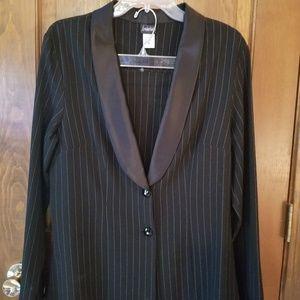 Tuxedo jacket and skirt set!